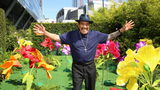Actor Danny Trejo helped rescue a baby trapped in an overturned vehicle in Los Angeles.