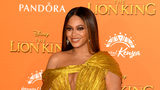 "Beyonce Knowles-Carter attends the European Premiere of Disney's ""The Lion King"" at Odeon Luxe Leicester Square on July 14, 2019 in London."