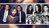 Pictured, clockwise from left, are Charles Manson, Manson followers Patricia Krenwinkel, Susan Atkins and Tex Watson, and murder victims Abigail Folger, Jay Sebring, Steven Parent, Sharon Tate and Wojciech Frykowski.