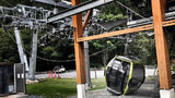 The Royal Canadian Mounted Police believe that cables were intentionally cut on the Sea to Sky Gondola located just outside Squamish, British Columbia. (Released by: Cst. Ashley MacKay Media Relations Officer Squamish RCMP)