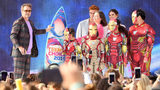 Actor Robert Downey Jr. accepts Choice Action Movie Actor for 'Avengers: Endgame' onstage during FOX's Teen Choice Awards 2019 on August 11, 2019 in Hermosa Beach, California.