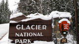 A 14-year-old girl died and four of her family members were injured when rocks hit their vehicle Monday evening at Glacier National Park in Montana.