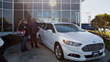 FILE PHOTO: Ford has recalled 108,000 Ford Fusion and Lincoln MKZ vehicles due to a seat belt issue.