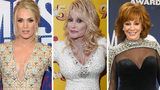 Brad Paisley is out as Dolly Parton and Reba McEntire join Carrie Underwood as CMA Awards hosts.