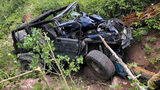 Colorado couple injured after Jeep rolls 450 feet