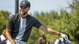 Golden State Warriors guard Stephen Curry announced he would be sponsoring the creation of men's and women's golf teams at Howard University. (AP Photo/Andrew Harnik)