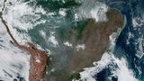 Amazon rainforest burns, makes daylight turn dark as night in South America