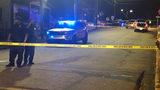 Police investigate a shooting near Clark Atlanta University.