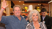 "Paula Deen's younger brother, Earl ""Bubba"" Wayne Hiers Jr., shown in this 2012 file photo, died Aug. 15 from pancreatic cancer. He was 65."