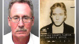 Timothy Alan Norris, 60, has been charged with sexual battery with a weapon in an August 1983 Coral Springs, Florida, cold case solved last month through DNA evidence. Norris, seen at right in a 1980s-era mugshot, is currently in federal prison.