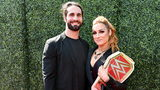 Pro wrestlers Seth Rollins and Becky Lynch made their engagement official Thursday.