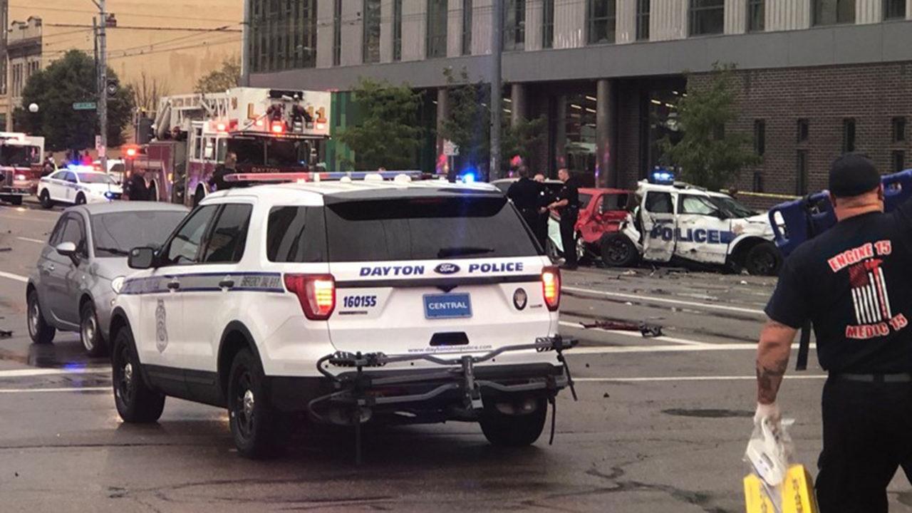 2 children dead, 10 hurt in crash of stolen Ohio police