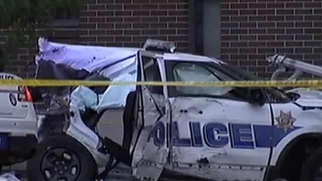 Children killed in stolen Ohio police cruiser crash 'did