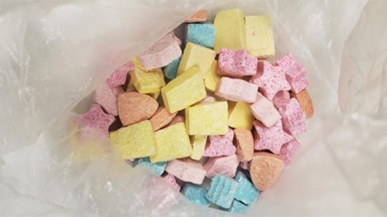 SpongeBob'-shaped ecstasy pills look like candy, could fool