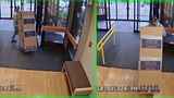 Police: man uses hand truck, cardboard box to steal ATM from Oregon hospital