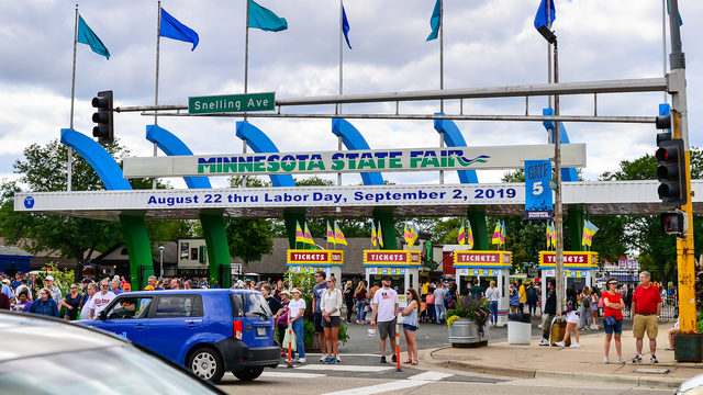 3 shot, 1 struck by vehicle outside Minnesota State Fair