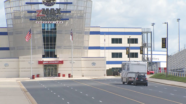 Charlotte Motor Speedway opens up for Hurricane Dorian