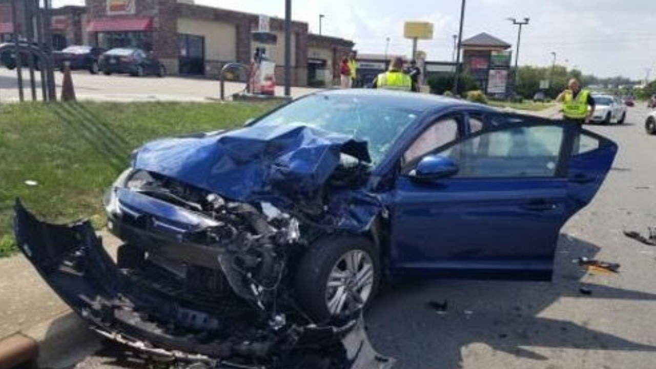 Man passed out from dose of heroin causes 3-vehicle crash