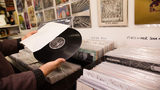 Vinyl records are currently on track to outsell CDs for the first time in 30 years, according to a new report by the Recording Industry Association of America.