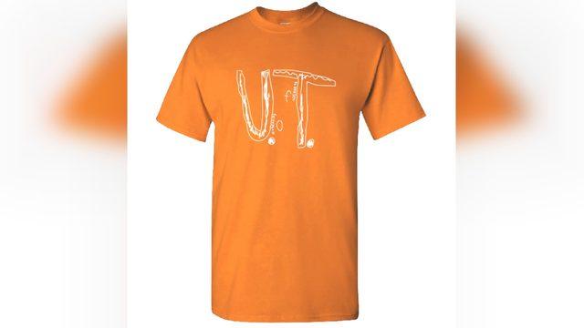 University of Tennessee makes homemade shirt Florida boy was