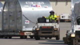 The shipment was filed with medicine, water filtration systems and hygiene kits. (Fox13Memphis.com)