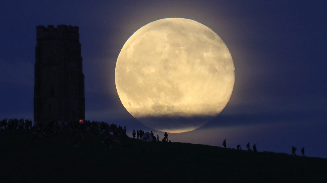Full harvest moon will bring spooky sight to the skies on Friday the 13th
