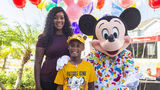 On his birthday on Sunday, Mickey Mouse and friends surprised Bell with a free VIP trip scheduled for later in the month. (ActionNewsJax.com)
