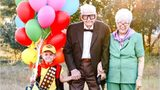 Boy's precious 'Up' photo shoot with great-grandparents goes viral