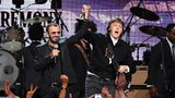 Ringo Starr has enlisted the help of former Beatles bandmate Paul McCartney on a song written more than three decades ago by John Lennon.