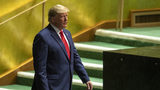 U.S. President Donald Trump arrives to address the 74th session of the United Nations General Assembly at U.N. headquarters Tuesday, Sept. 24, 2019.