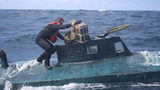 Coast Guard stops submarine with $165 million of cocaine