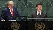 President Donald Trump and President of Ukraine Volodymyr Zelensky each addressed the United Nations General Assembly at the UN headquarters. Trump addressed the world leaders on Tuesday, Zelensky on Wednesday.