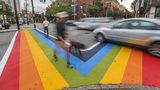 Atlanta mayor says rainbow crosswalks are here to stay