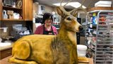 SEE: Over-the-top, life-size deer wedding cake