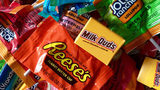 Reese's Peanut Butter Cups took the top spot in a Monmouth University poll of the top-selling Halloween candy.