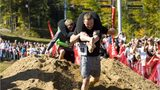 Delaware couple wins North American Wife Carrying Championship