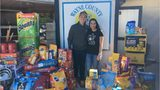SEE: Newlyweds ask for food, supply donations for humane society
