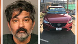 Shankar Hangud, 53, of Roseville, California, is charged with four counts of murder in the killings of four family members. Hangud allegedly drove more than 200 miles with a victim's body in his car before turning himself in Monday, Oct. 14, 2019.