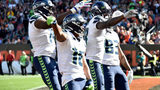 NSYNC gives Seattle Seahawks high scores for 'Bye Bye Bye' touchdown celebration