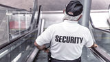 A mall security guard.
