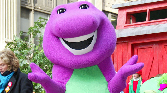 Barney is getting a movie, and Daniel Kaluuya of `Get Out` is producing it