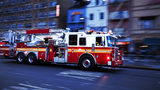 Stock photo of a fire truck.