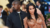 Kim Kardashian West and Kanye West attend the 2019 Met Gala Celebrating Camp: Notes on Fashion at Metropolitan Museum of Art on May 6, 2019, in New York City.