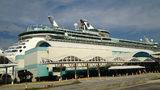 Royal Caribbean's Freedom of the Seas cruise ship.