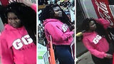 New photos released by Atlanta police show Alexis Crawford inside a business at 595 Ralph David Abernathy Boulevard in southwest Atlanta before she disappeared.