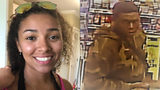 Aniah Blanchard, 19, of Homewood, was reported missing Oct. 24, the day after she was last seen shopping at an Auburn convenience store. Police shared surveillance images of a man they said was in the same store around the same time.