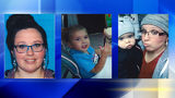 A woman and two children might be in danger. Alicia Brumbaugh, 31; Maverick Brumbaugh, 1; and Aleah Brumbaugh, 2, were last seen Monday 11/11. Investigators believed they are with Alicia Brumbaugh's father-in-law, 56-year-old Edgar Decker Jr.