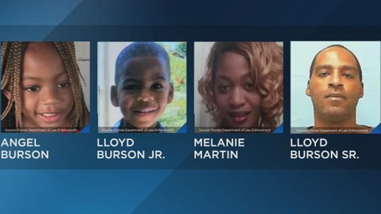 Florida Amber Alert: Mother, 2 children abducted by father at gunpoint, police say