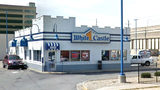 Pictured in an August 2018 Street View image is the downtown Indianapolis White Castle where two circuit court judges were shot May 1, 2019. They and a third judge have been suspended without pay for the drunken brawl that led to the shooting.