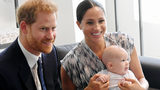 FILE PHOTO: Prince Harry, Duke of Sussex, Meghan, Duchess of Sussex and their baby son Archie Mountbatten-Windsor meet Archbishop Desmond Tutu. The couple will not be having Christmas with the Queen this year.